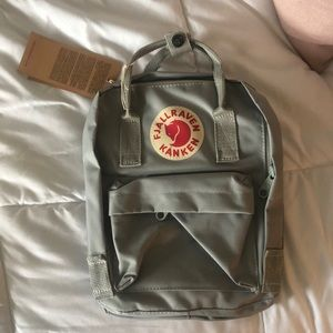 Mint green mini backpack!